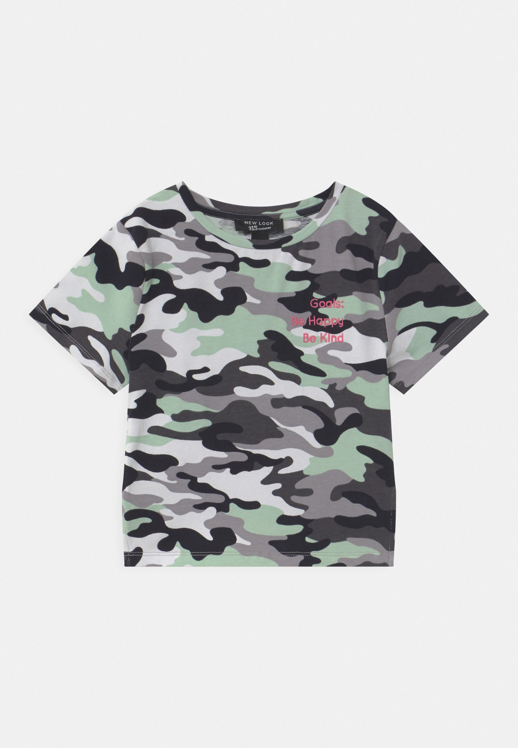 Kids CAMO LATTICE SIDE - Print T-shirt