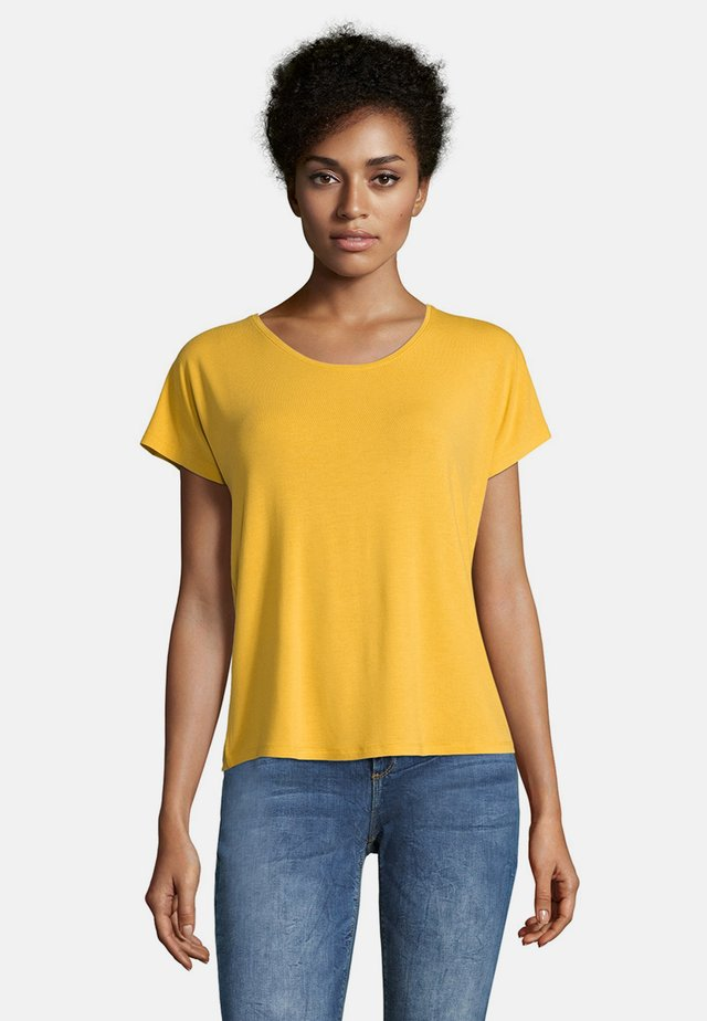 Basic T-shirt - golden rod