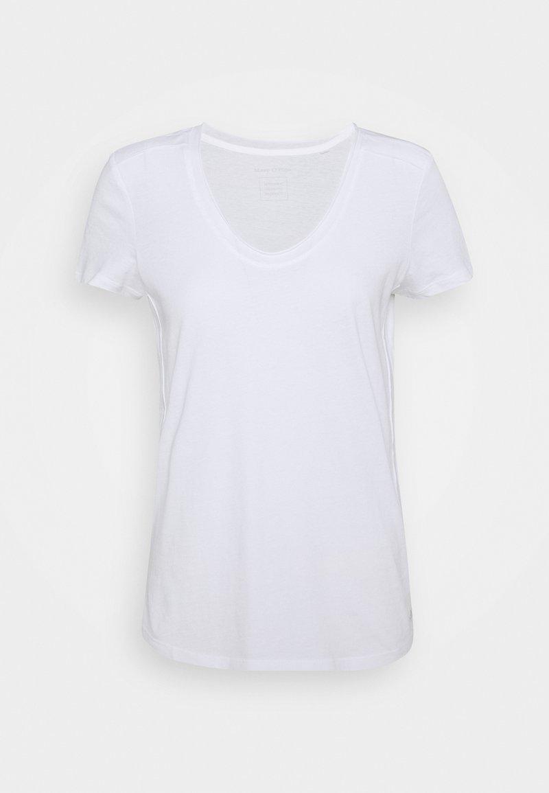 Marc O'Polo - SHORT SLEEVE  - Basic T-shirt - white
