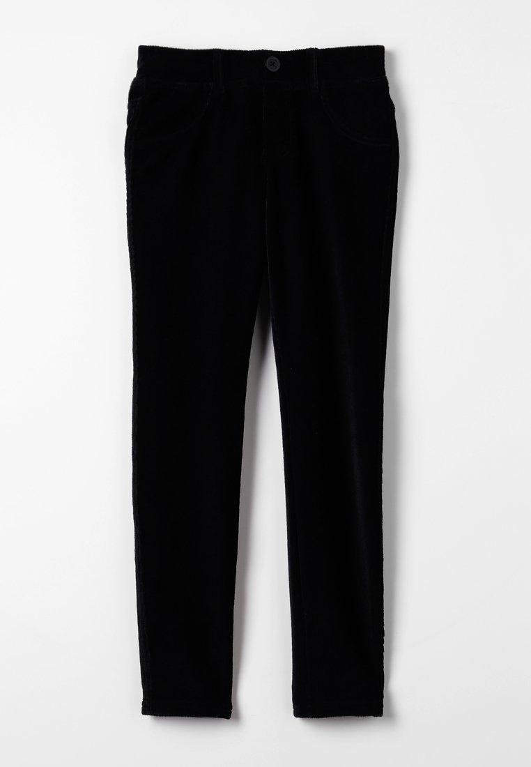 Benetton - TROUSERS - Pantaloni - black