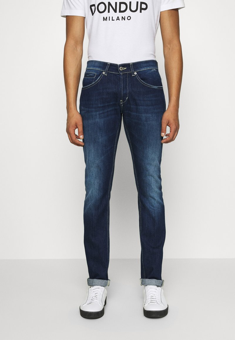 Dondup - PANTALONE GEORGE - Slim fit jeans - blue denim