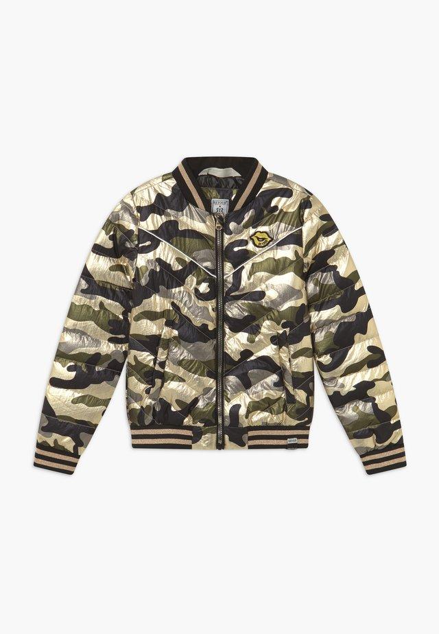CYNTHIA - Bomber Jacket - gold