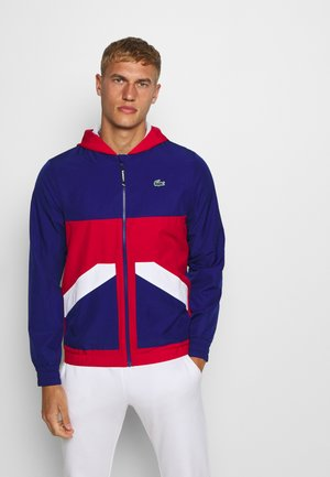 TENNIS JACKET - Chaqueta de entrenamiento - cosmic/red/white