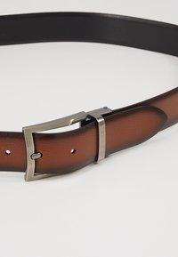 Bugatti - REGULAR - Belt - cognac/schwarz - 2
