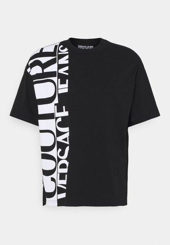 T-shirt med print - nero