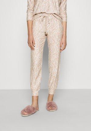 FLEXI ANI CUFF - Pyjama bottoms - oatmeal mix