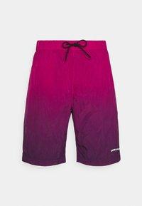 Calvin Klein Jeans - DIP DYE - Shorts - purple - 0