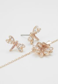 Swarovski - ETERNAL FLOWER FLY SET - Pendientes - rose gold-coloured - 4