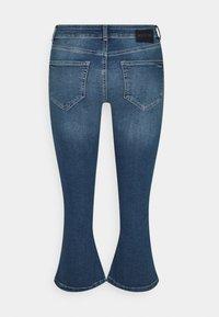 Noisy May Petite - NMMARLI - Flared Jeans - medium blue denim - 1