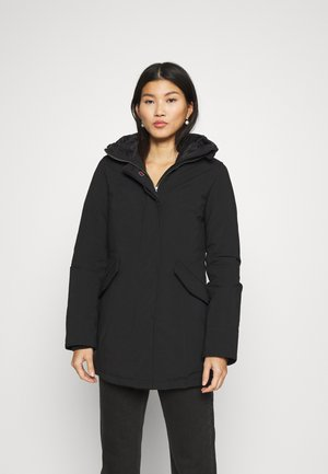 FUNDY BAY TECH HOOD - Down coat - black