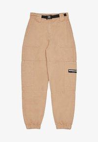 Bershka - Trousers - beige - 5