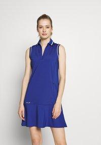 Polo Ralph Lauren Golf - DRESS SLEEVELESS CASUAL - Sportovní šaty - royal navy - 0