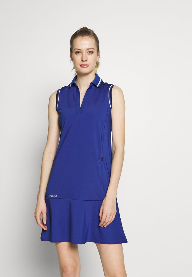 DRESS SLEEVELESS CASUAL - Sports dress - royal navy