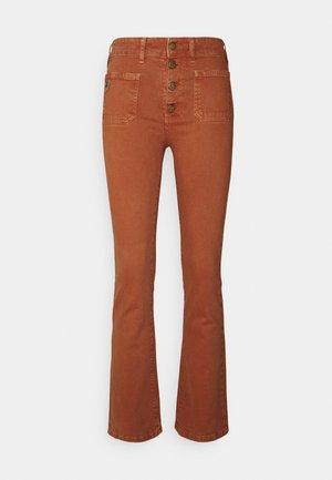 GAUCHO - Široké džíny - orange rust