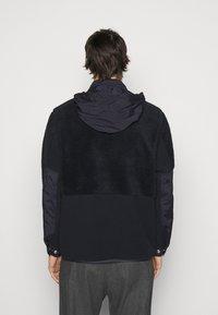 Theory - COLLINS ZIP - Fleece jacket - dark blue - 2