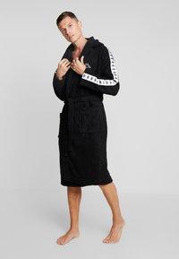 Kappa - VARDAGEN - Dressing gown - caviar - 1