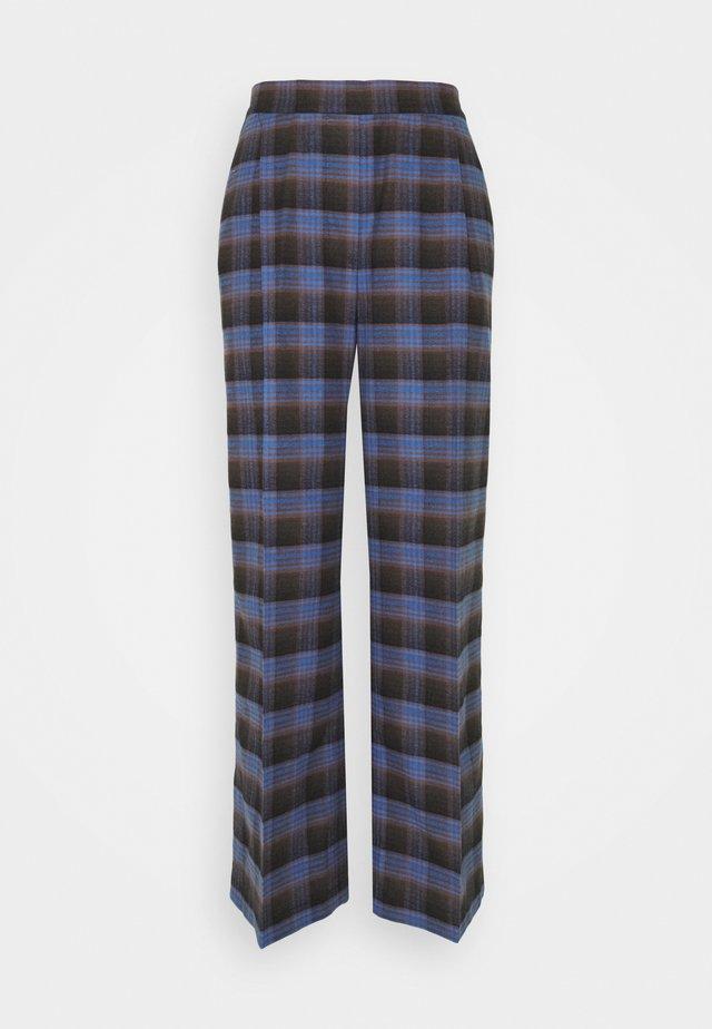 TRAVEL PANTS - Pantaloni - royal blue