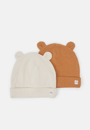 EARS 2 PACK UNISEX - Mössa - dusty brown