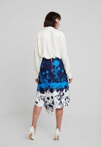 Ted Baker - A-line skirt - dark blue - 2
