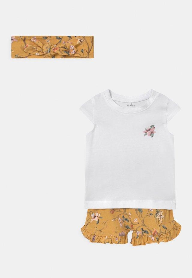NBFFIOLA SET - T-shirt print - ochre