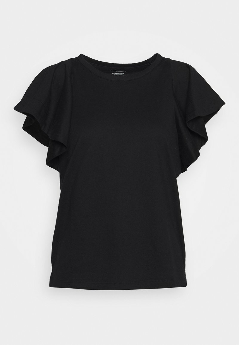 Banana Republic - FLOUNCE SLEEVE - T-shirt con stampa - black