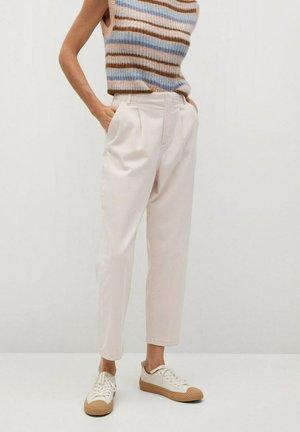 MAURO - Trousers - ecru