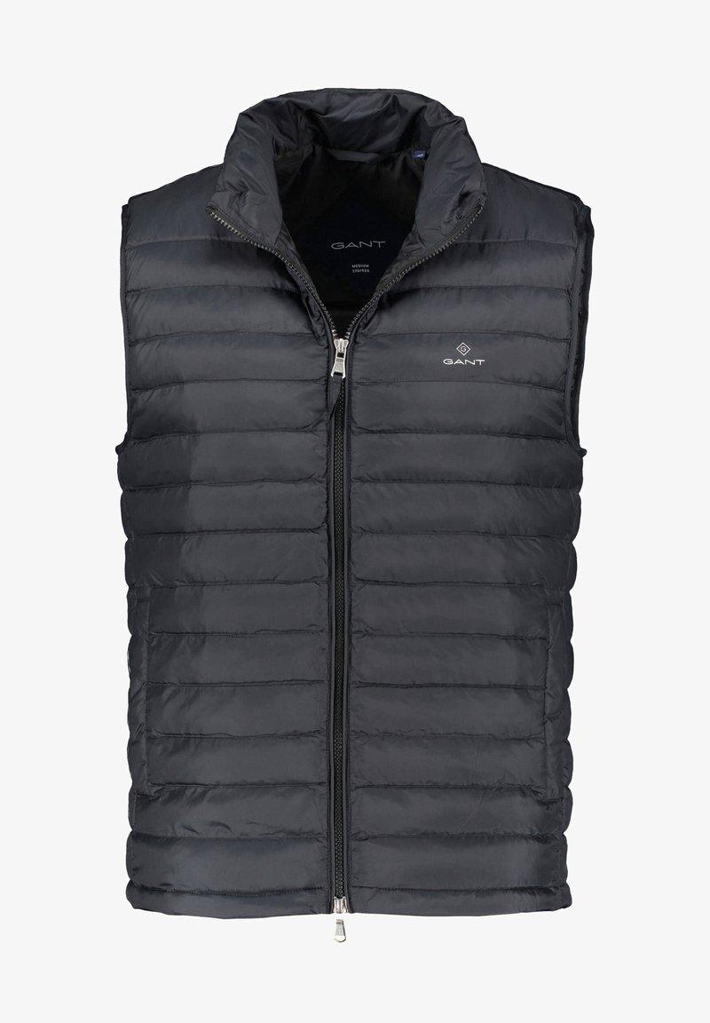 GANT - Waistcoat - schwarz