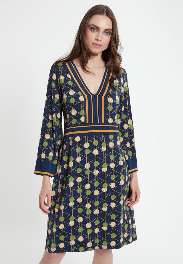 CEDLY - Korte jurk - blau