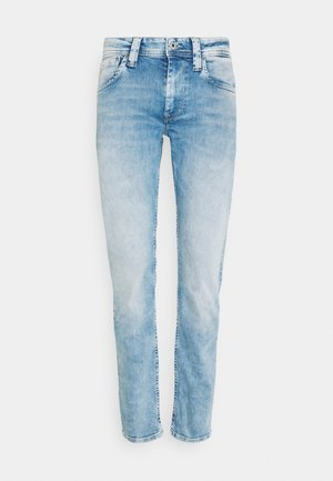 CASH - Džíny Slim Fit - light blue denim