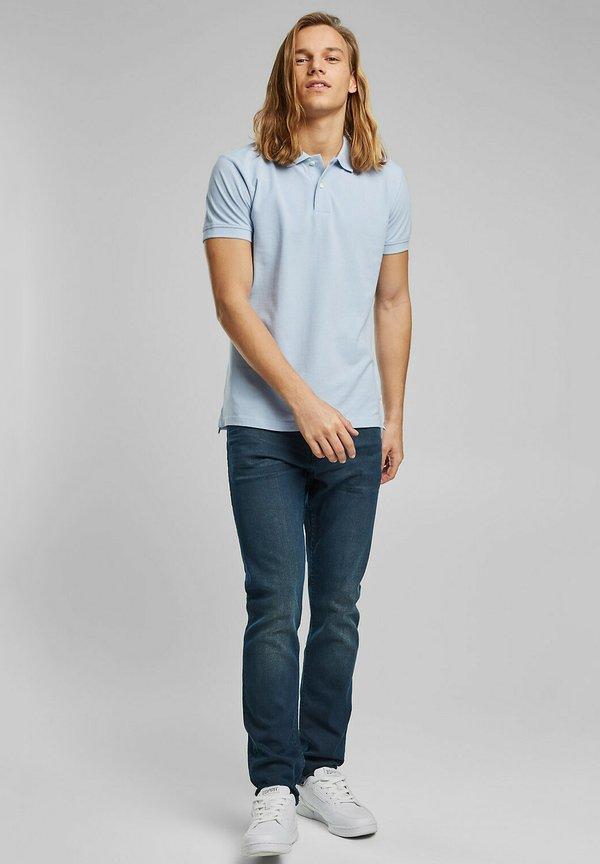 Esprit Koszulka polo - light blue/jasnoniebieski Odzież Męska BAYZ