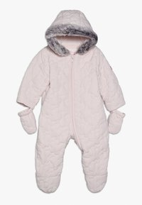 mothercare - BABY QUILTED SNOWSUIT - Snowsuit - pink - 0