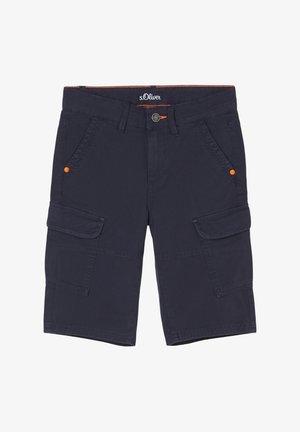 SLIM FIT - Shorts - blue