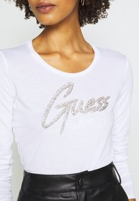 Guess - CAMILLA  - Long sleeved top - true white - 5