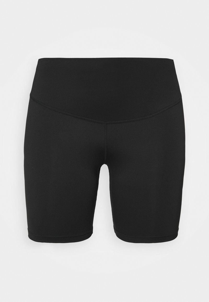 "Nike Performance - RUN TIGHT SHORT 7"" PLUS - Tights - black/reflective silver"
