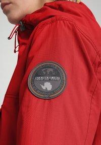 Napapijri - RAINFOREST SUMMER - Winter jacket - old red - 5