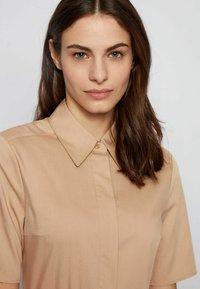 BOSS - DARANDA - Shirt dress - beige - 4