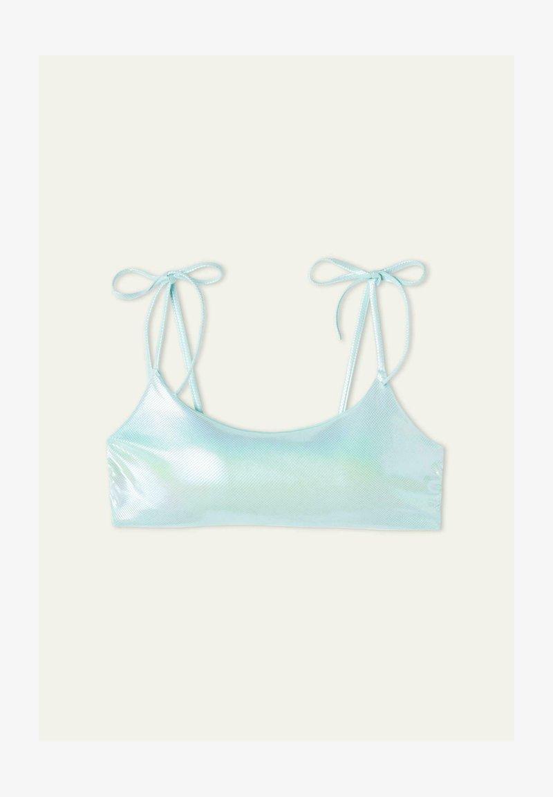 Tezenis - GLOSSY - Bikini top - azzurro acqua