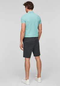 QS by s.Oliver - Shorts - black heringbone - 2
