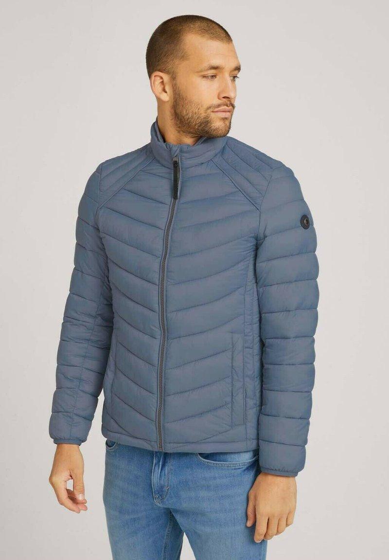 TOM TAILOR - Light jacket - blue grey