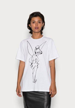 PCKLAS TEE - T-shirts med print - bright white