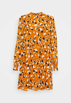 VISAFFARONA DRESS PETITE - Day dress - pumpkin spice