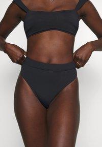 Seafolly - HIGH RISE PANT - Bikini bottoms - black - 0