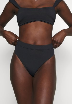 HIGH RISE PANT - Bikini bottoms - black