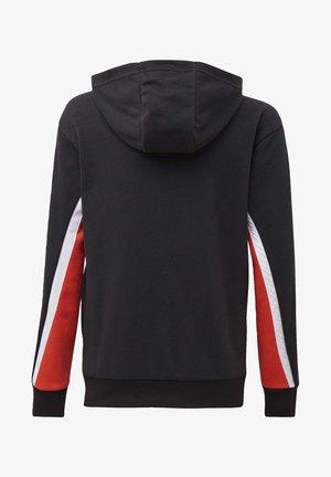BOLD FULL-ZIP HOODIE - Bluza rozpinana - black