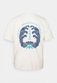 Edwin - MONDOKORO - Print T-shirt - whisper white - 7