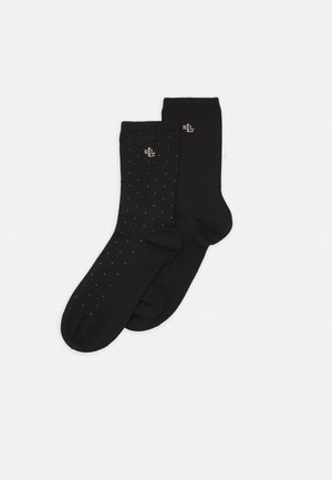 PINDOT 2 PACK - Socks - black