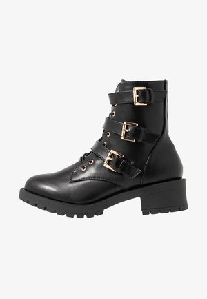 BIACLAIRE BASIC BOOT - Cowboy/biker ankle boot - black