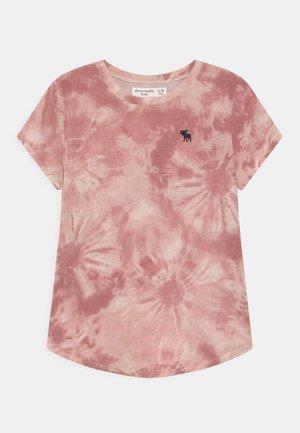 BACK CORE CREW  - T-shirt con stampa - mauve