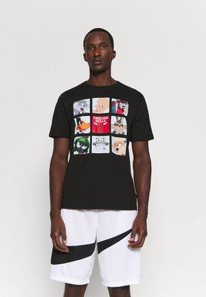 NBA LOS ANGELES LAKERS SPACE JAM TUNE ZOOM TEE - Print T-shirt - black