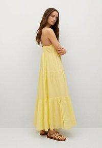Mango - COTTON - Maxi dress - gul - 1